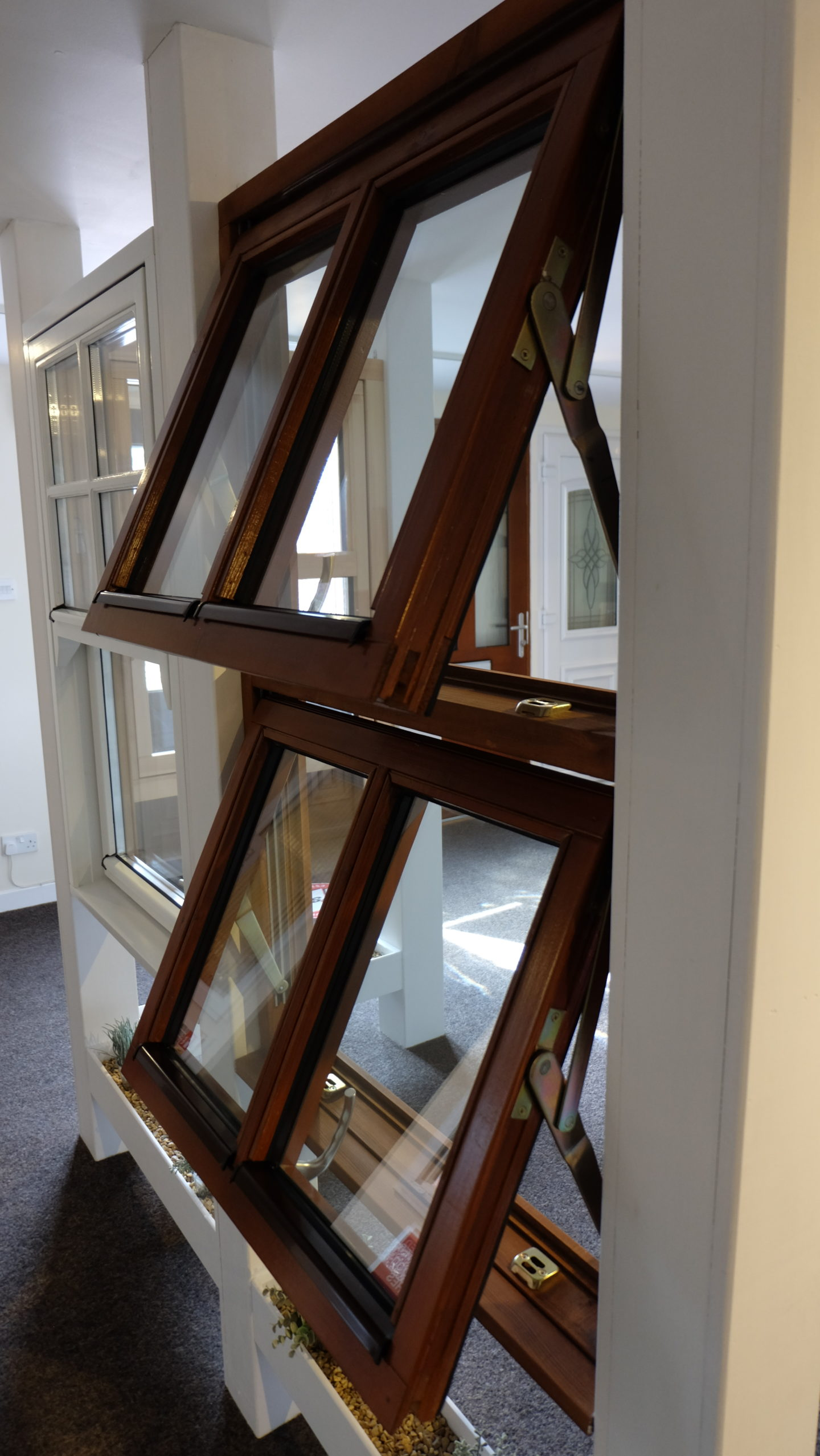 Timber Dual Swing Window Specification