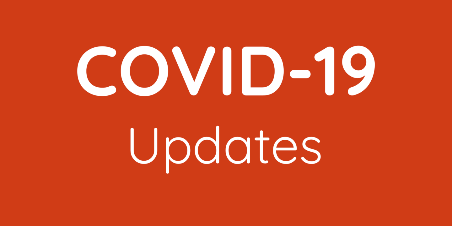 COVID-19 Statement & Updates